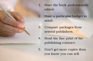 self publish tips