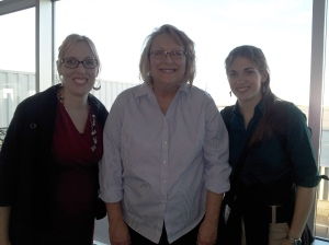 Jen, Martha & Meagan at the Denver Airport