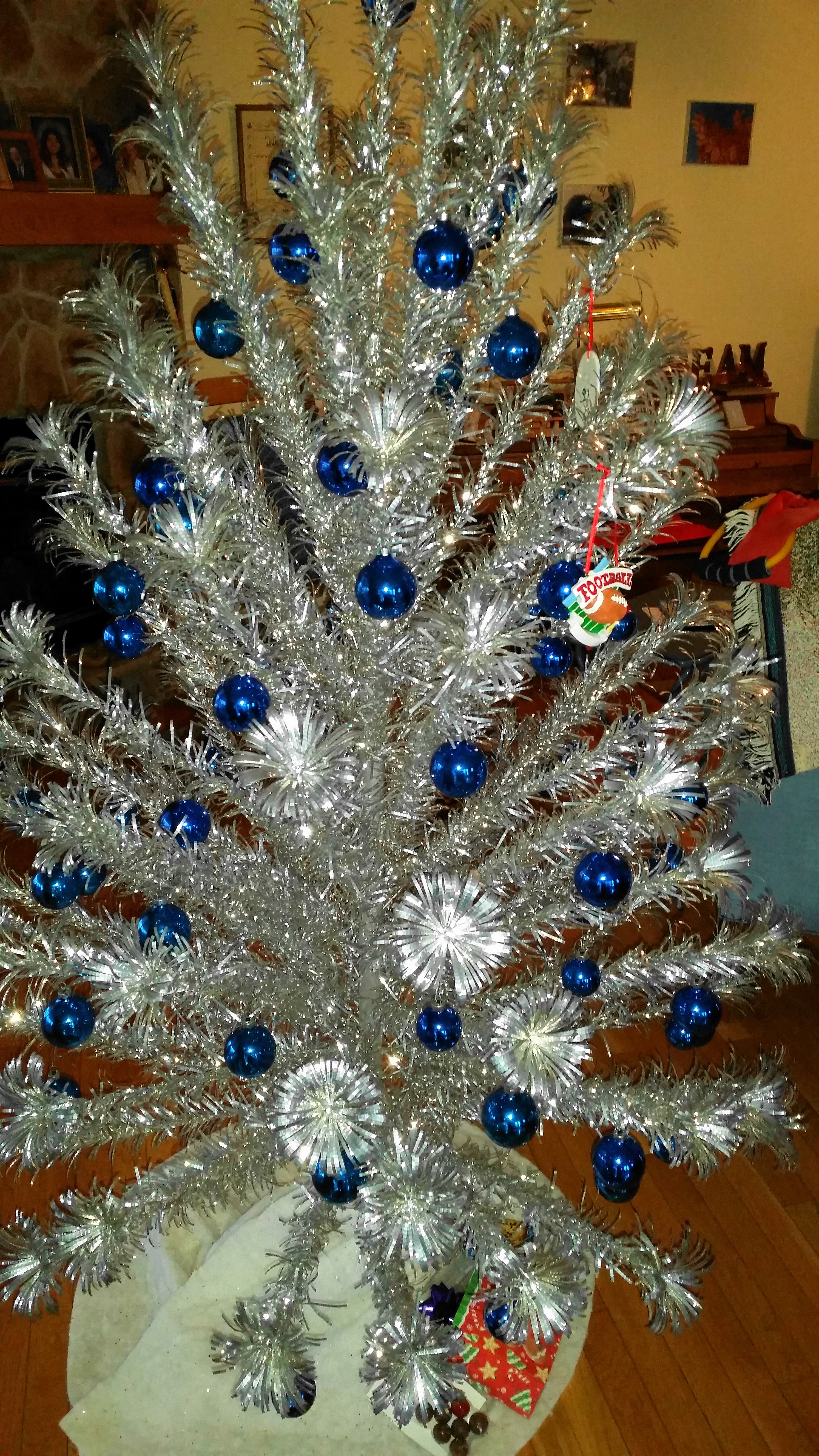 Silver Christmas Tree Donna L H Smith
