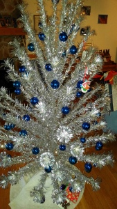 Our genuine 50+ year old Silver Christmas Tree