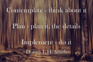 Contemplate Plan Implement