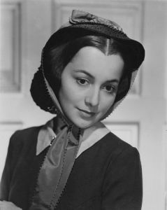 Olivia de Haviland as Melanie Wilkes in Gone with the Wind